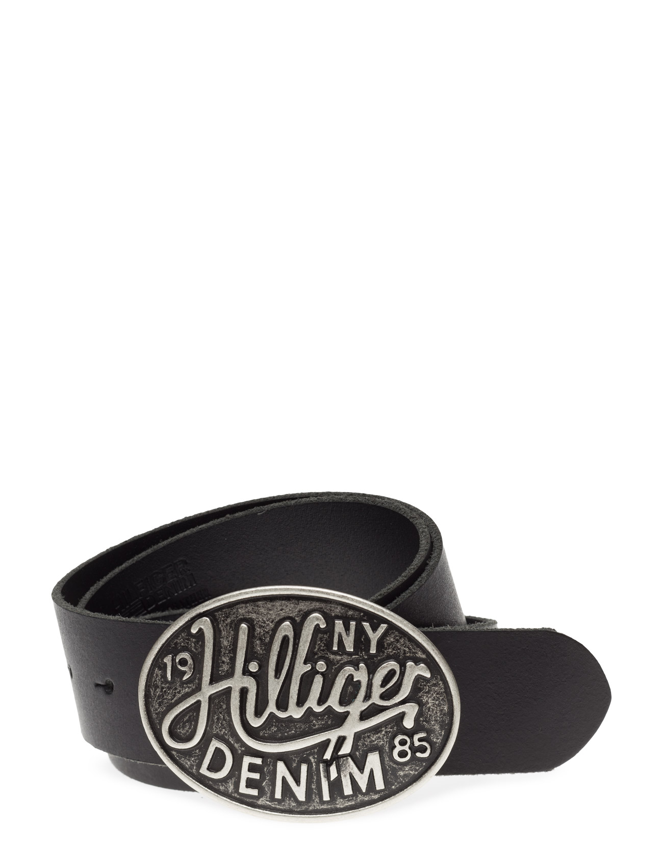 Thdm Buckle Leather Belt 4 Hilfiger Denim Bälten