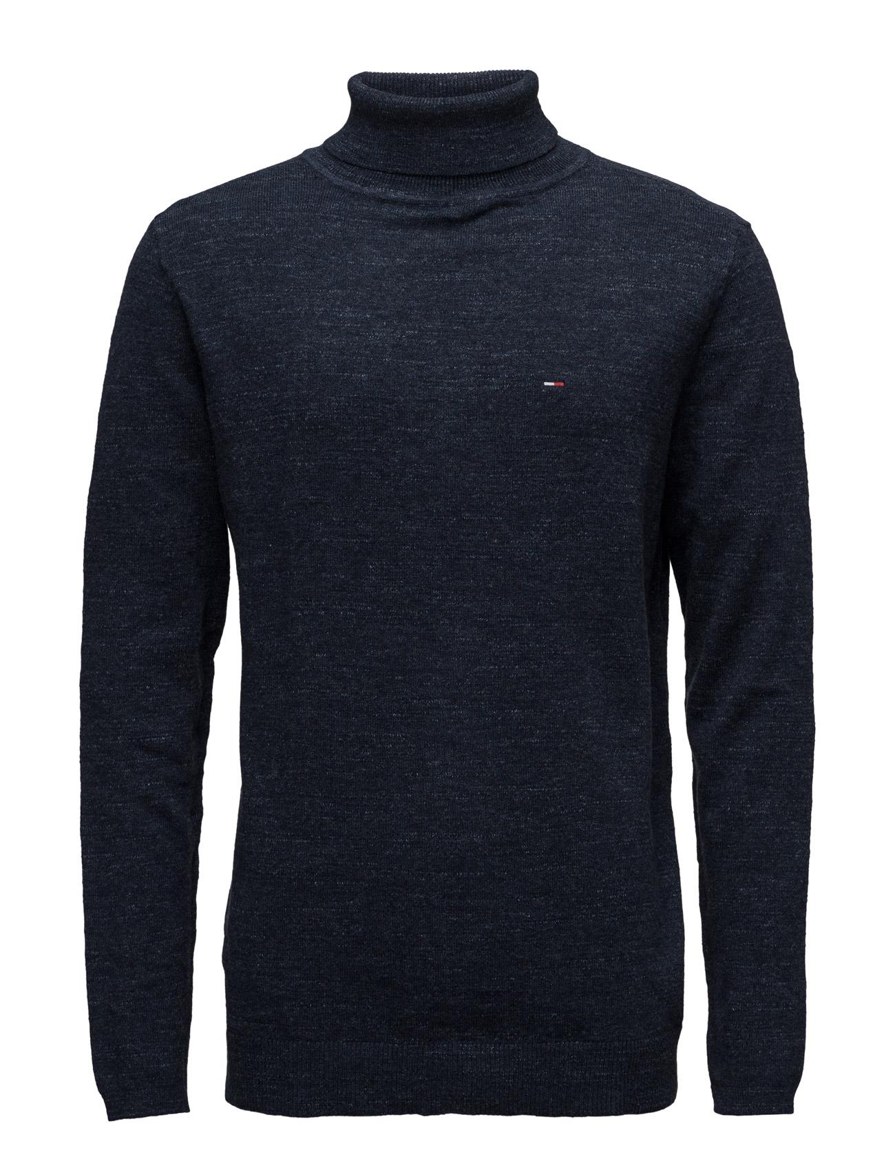 Thdm Basic Rn Sweater L/S 11 Hilfiger Denim Højhalsede til Mænd i Blå