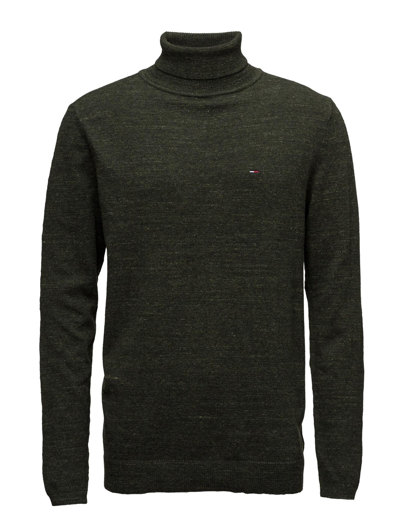 Thdm Basic Rn Sweater L/S 11 Hilfiger Denim Striktøj til Mænd i Grøn
