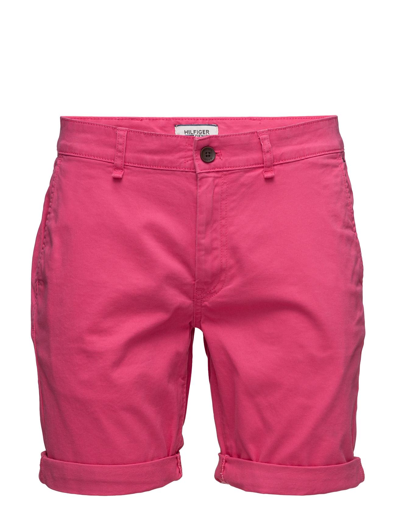 Thdm Basic Straight Short Freddy 11 Hilfiger Denim Bermuda shorts til Herrer i Blå