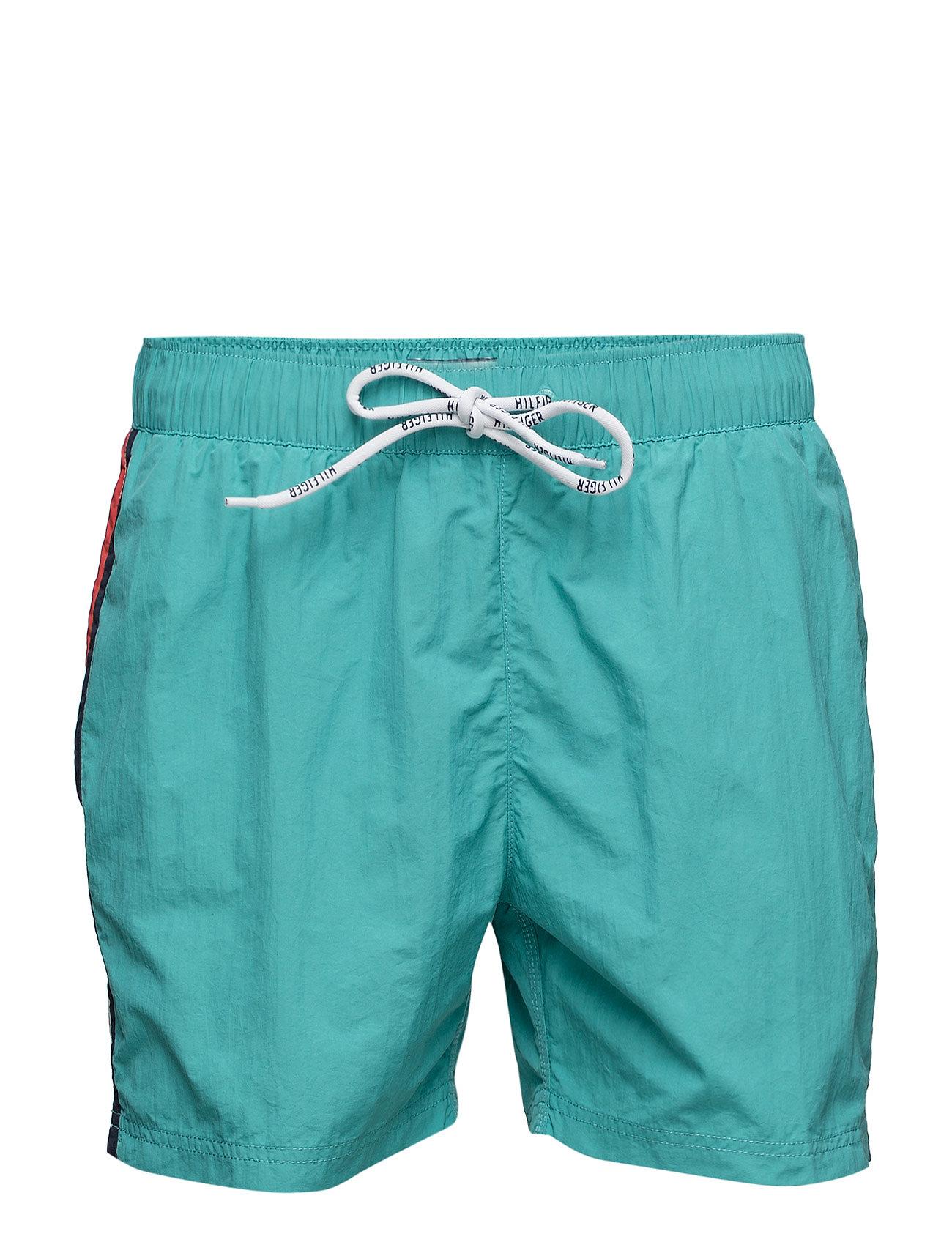 Thdm Basic Flag Swimshort 12 Hilfiger Denim Shorts til Herrer i Grøn