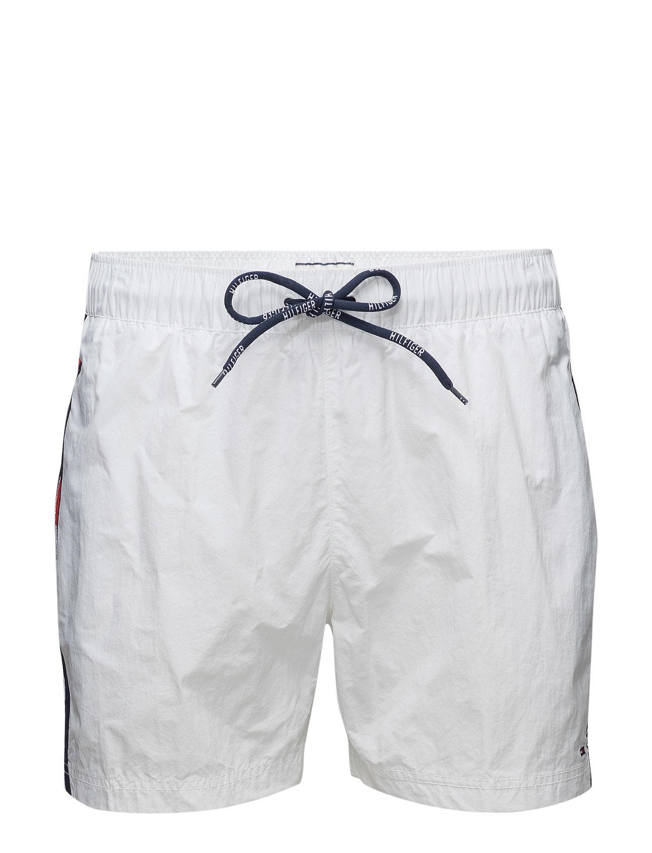 Thdm Basic Flag Swimshort 12 Hilfiger Denim Shorts til Herrer i hvid