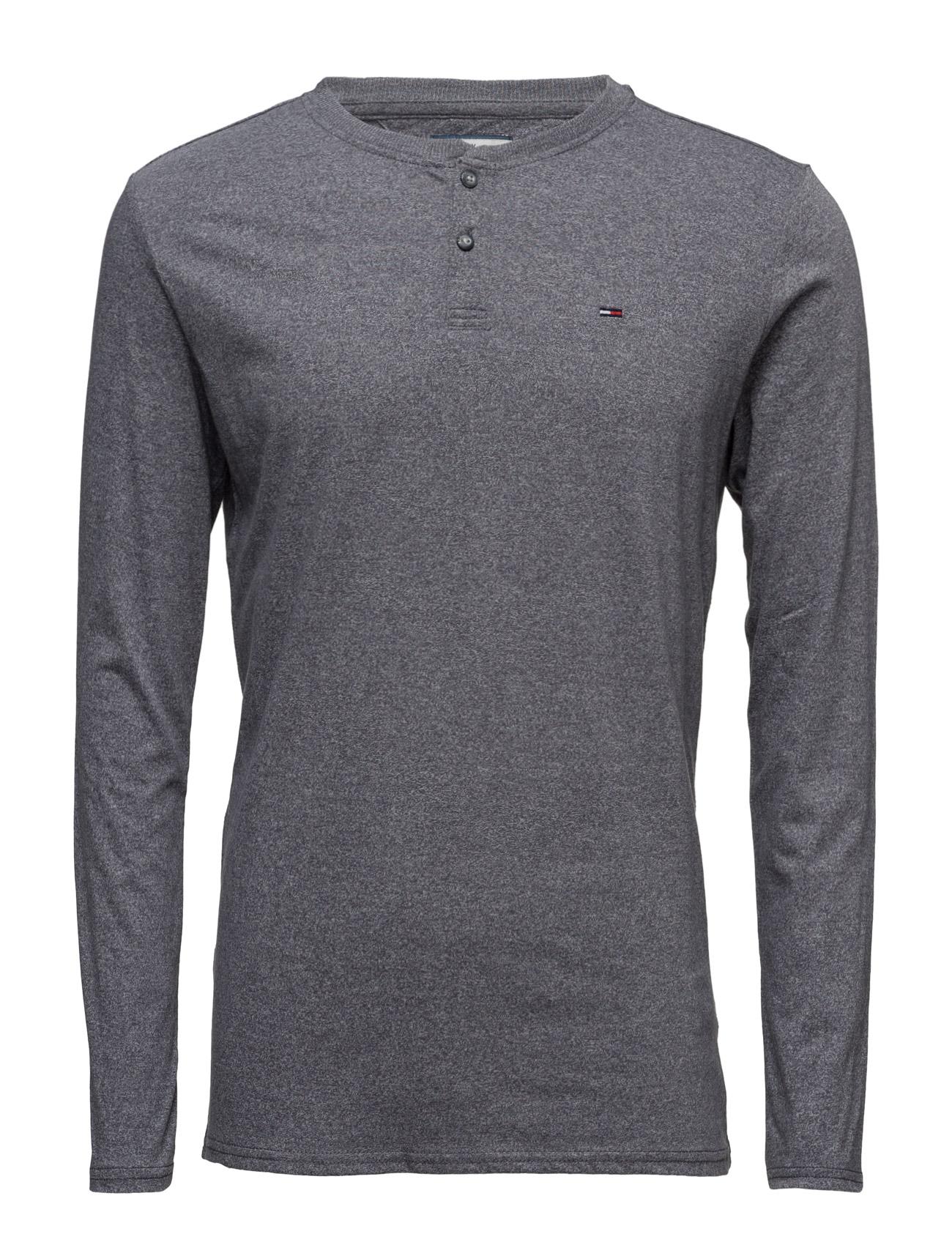 Thdm Basic Henley Knit L/S 40 Hilfiger Denim T-shirts til Mænd i