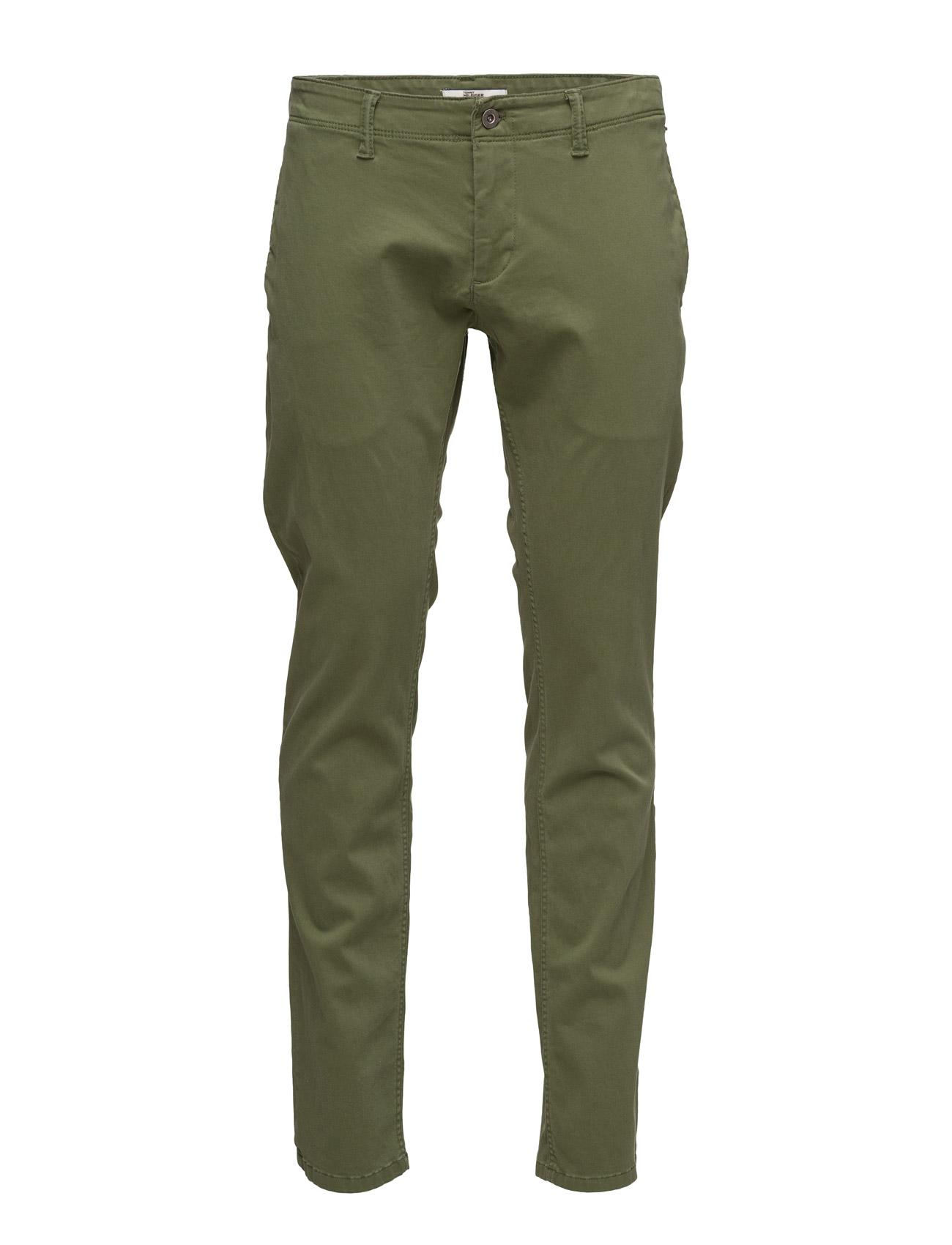 Thdm Slim Protect Chino 12 Hilfiger Denim Bukser til Mænd i Grøn
