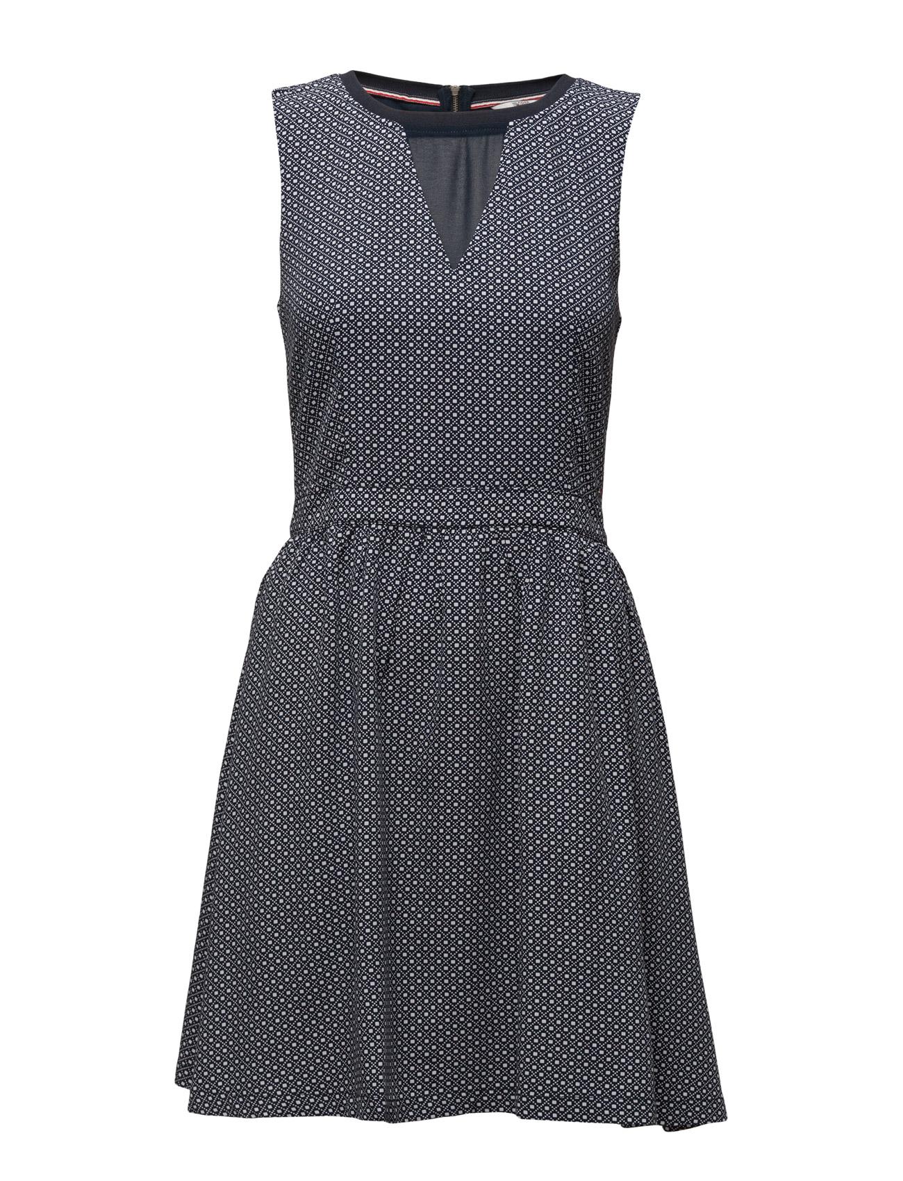 Thdw Print Dress S/L 25 Hilfiger Denim Korte kjoler til Damer i Blå