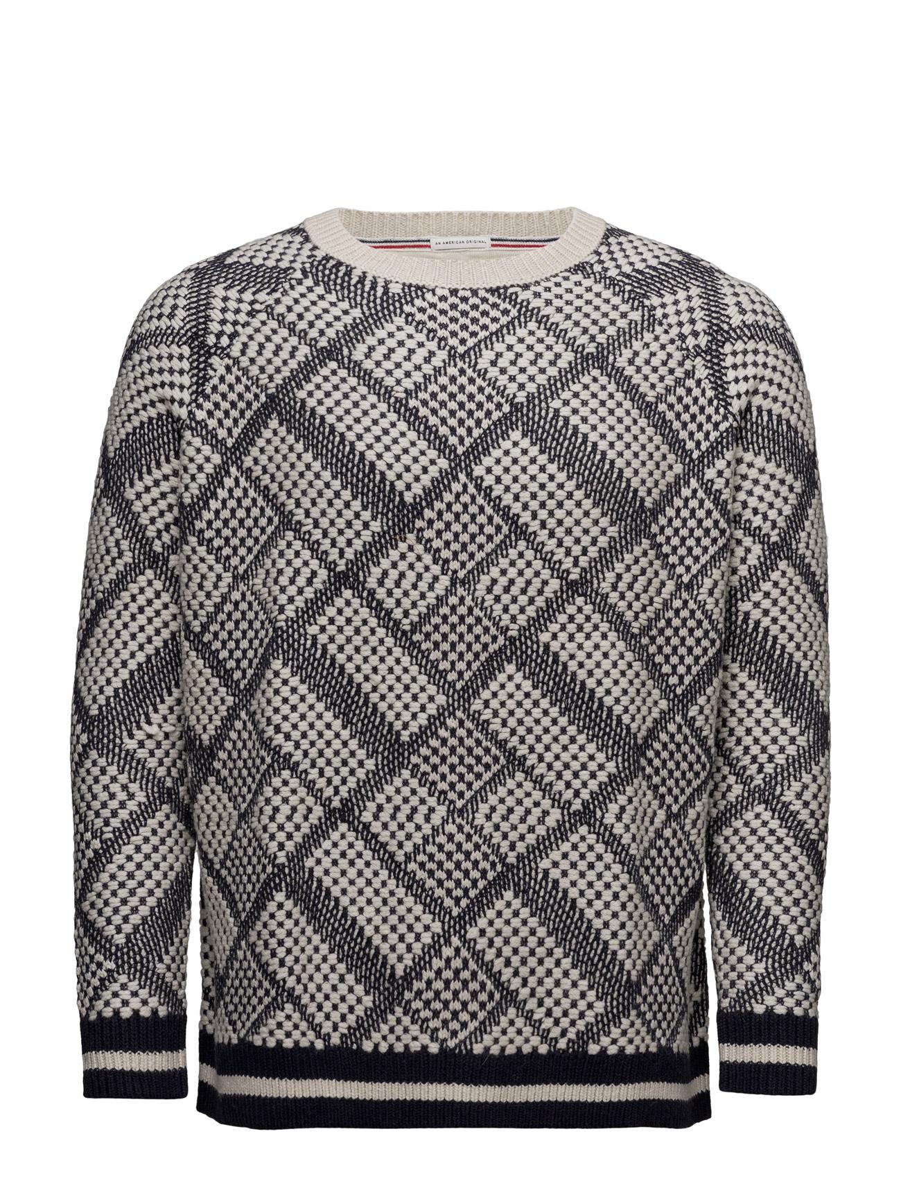 f5112b02e65 Shop Thdw Cn Sweater L/S 23 Hilfiger Denim Striktøj i hvid til Unisex på en  webshop