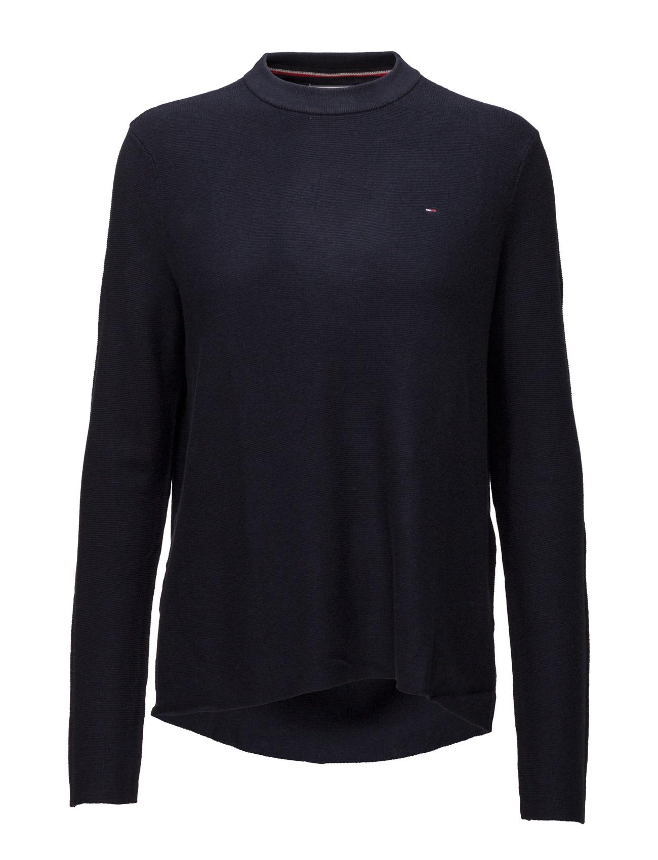 Thdw Basic Cn Sweater L/S 16 Hilfiger Denim Sweatshirts til Damer i Blå