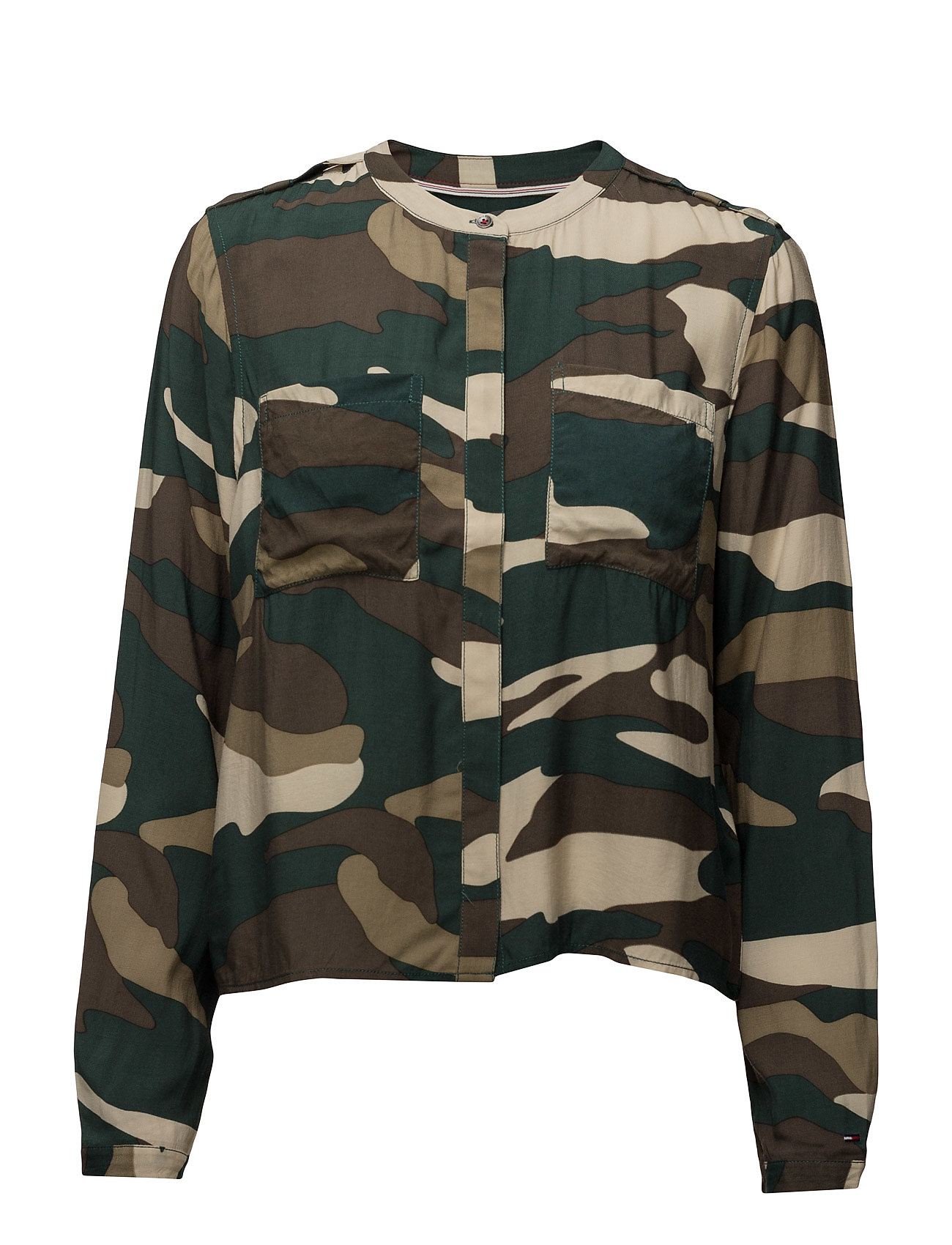hilfiger denim – Thdw utility shirt l/s 43 fra boozt.com dk