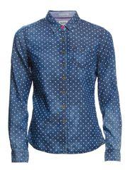 Brianna shirt l/s - CHAMBRAY/ MULTI