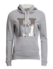 Trixie hd hknit l/s - LIGHT GREY HEATHER