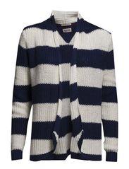Nally cardigan l/s striped - 430