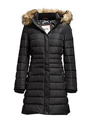 Maria down coat - BLACK