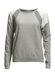 Vania cn knit l/s - GREY