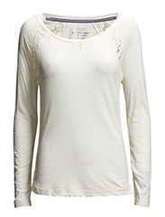 Vanita sn knit l/s - WHITE