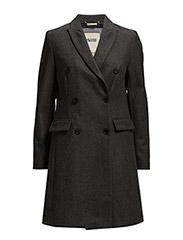 Gabriella wool coat - GREY
