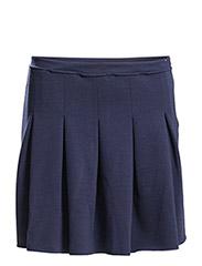 Jacy hknit skirt - BLUE