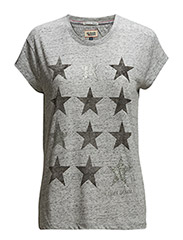 Luxie 2 cn tee s/s - GREY