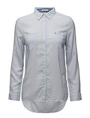 Original lightweight shirt l/s - HALOGEN BLUE