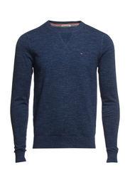 Ethan htr cn sweater l/s - BLACK IRIS-PT