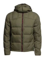 Nebraska hd down jacket - OLIVE NIGHT-PT