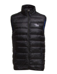 Dolan down vest - TOMMY BLACK