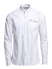 Georgetown shirt l/s - CLASSIC WHITE