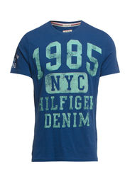 Manhattan 1 cn tee s/s - ENSIGN BLUE-PT