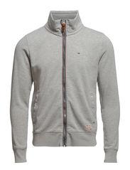 Hunter track jacket l/s - LIGHT GREY HEATHER