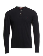 Trump henley l/s - TOMMY BLACK