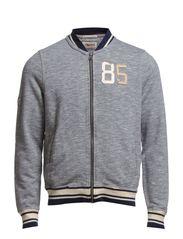 Gatsby baseball jacket - BLACK IRIS-PT