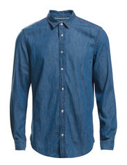 Thompson shirt LMB - LIZARD MID BLUE