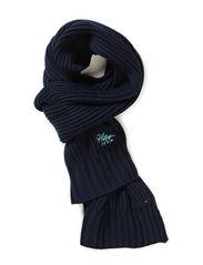 Jason scarf - BLACK IRIS-PT