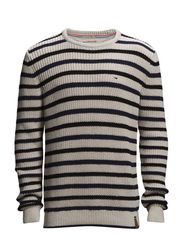 Kennett striped cn sweater l/s - 105