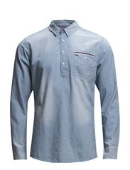 Nepo shirt l/s - BLUE