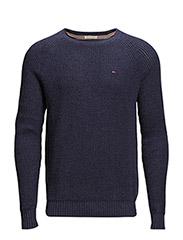 Indy cn sweater l/s - BLUE