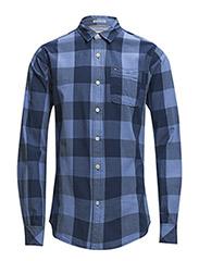 Faber shirt l/s - BLUE