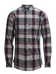 Fadil shirt l/s - BLUE