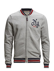 Haristo baseball jacket - GREY