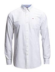 Georgetown shirt l/s - WHITE