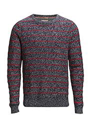 Gustave cn sweater l/s - BLUE