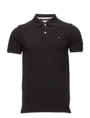 Original flag polo s/s - BLACK