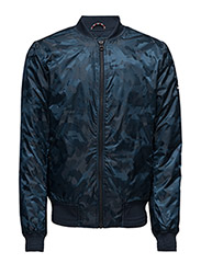 THDM CAMOFLAUGE BOMBER 19 - BLUE