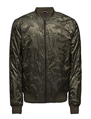 THDM CAMOFLAUGE BOMBER 19 - GREEN