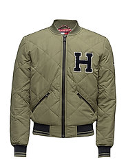 THDM MIX QUILTED PUFFA 13 - GREEN
