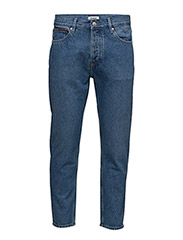 RELAXED CROPPED RAND - TOMMY JEANS MID BLUE RIGID