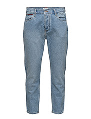 RELAXED CROPPED RAND - TOMMY JEANS LIGHT BLUE RIGID