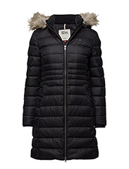 THDW BASIC DOWN COAT 3 - BLACK BEAUTY