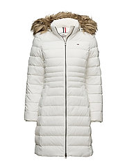 THDW BASIC DOWN COAT 3 - WHITE