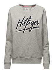 THDW BASIC GRAPHIC CN HKNIT L/S 11 - GREY