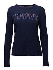 Tommy Jeans - Thdw Cn T-Shirt L/S,